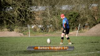 Barker Butts RFC V Hinckley U14s