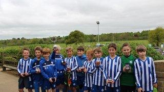 Mighty U11 Winners of Cups 2016/17