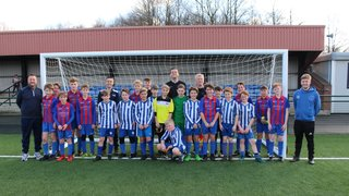 Saints U12 Blues County Cup result