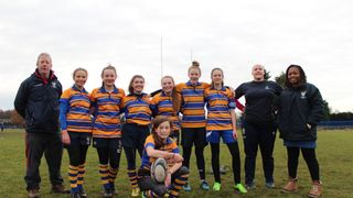 The girls rugby section has been going 11 weeks