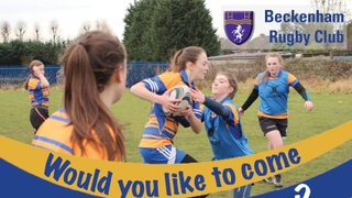 U15s Girls Rugby -  Would you like to try Girls Rugby?