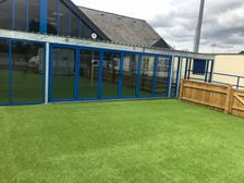 Ground updates: Front of clubhouse