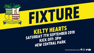 Ticket details: Kelty Hearts vs Solihull Moors