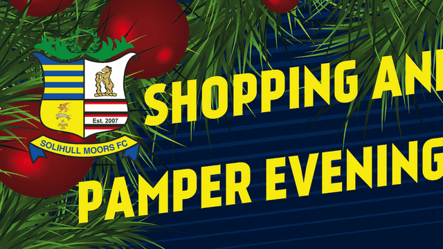 This Friday: Shopping and Pamper evening