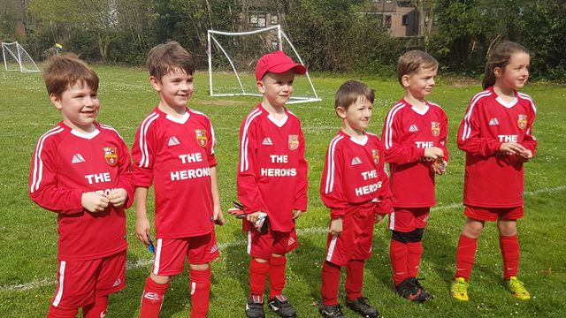 Herons Secure Friendly Victory in away Derby.