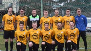 Reserve Team Photo at East Harling