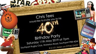 Chris' 40th!