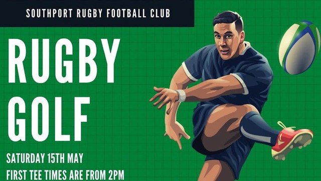 Rugby Golf - Saturday 15th May!