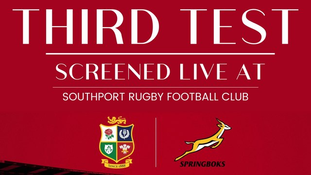 WATCH THE 3RD AND FINAL TEST @SRFC!