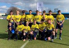 Cup Winners - Under 15 Puma's Celebrate Cup Success