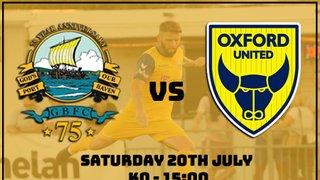 Game Saturday - Oxford Utd XI