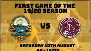 Season Starts Saturday - Against Taunton