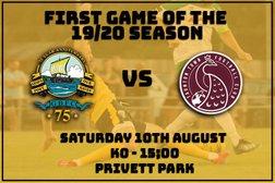 Game Day - Saturday Privett Park - 3pm