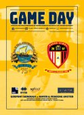 Hayes & Yeading - Game Day Programme - Available NOW