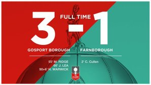 Gosport 3 - Farnborough 1