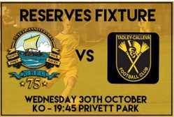 More Cup Action At  Privett Park - Tonight (Weds 30th)