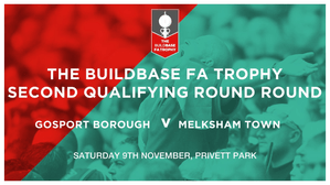 Countdown To Saturday's FA Trophy Game - Privett Park 3pm