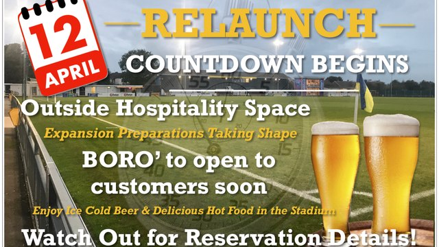 BORO' Get Set for reopening Relaunch