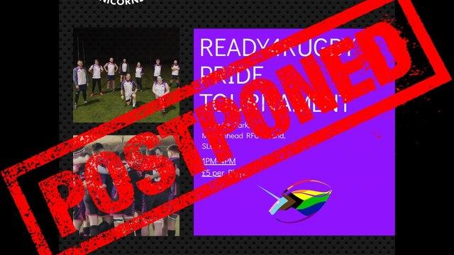 Pride Tournament POSTPONED