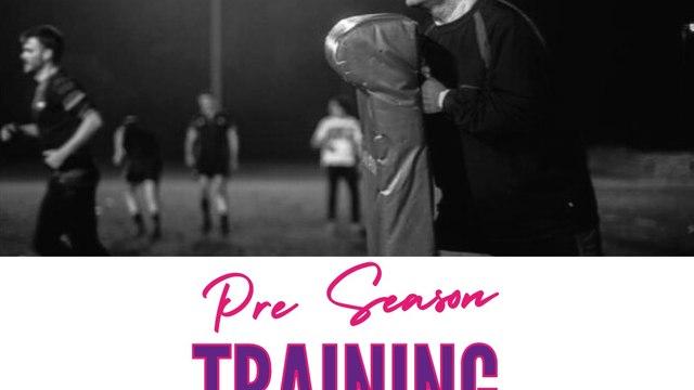 Pre Season Contact Training Returns