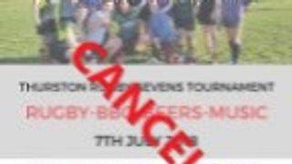 News update: 7's Tournament Cancelled