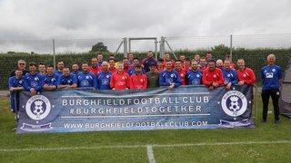 Jamie Lucas XI 4-4 Burghfield FC XI