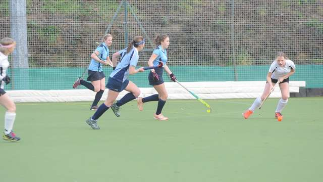 Ladies Secure 5-3 Win with only 10