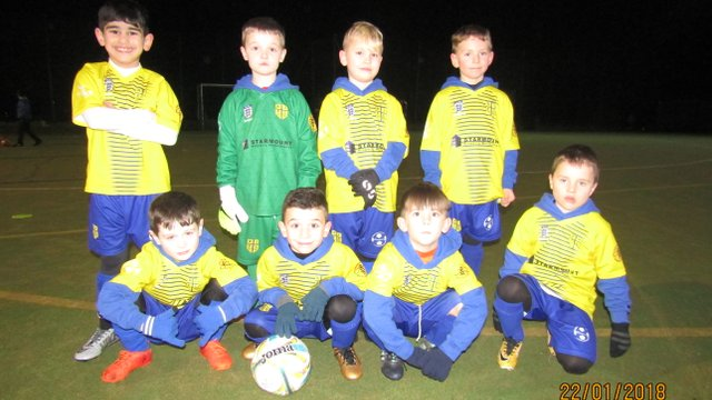 Under 8s Wolves