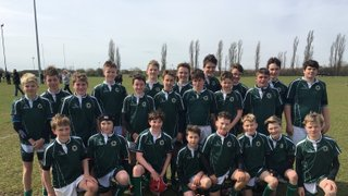 U13's play a fantstic game but just lacked the firepower to convert it into points in the Essex Cup final