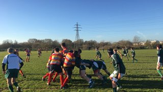 U14's extend cup run with 36-5 win over Peterborough