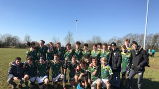 U15's win the County cup final 25-5