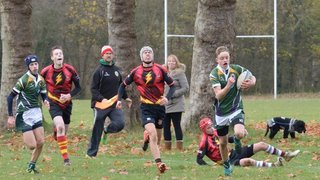 U16 clinch victory in humdinger in Brentwood