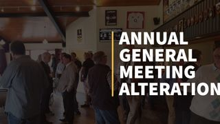 Change of Date for the AGM