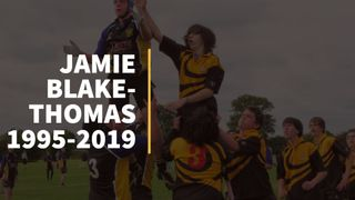 Sad News - Jamie Blake-Thomas RIP