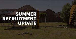 Summer Recruitment Update