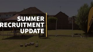 Summer Recruitment Update
