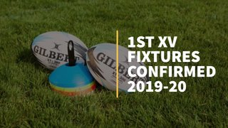 1st XV Fixtures Confirmed