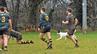 Keswick RFC 2nd XV 39 v 0 Leigh RFC 2nd XV I Halbro NW League County Courier Services Division 2 North I Photos by Ben Challis