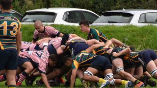 KESWICK RFC 2ND XV 36 v 5 OLDHAM RUFC 2ND XV. Halbro NW League Division Two North I Photos by Ben Challis