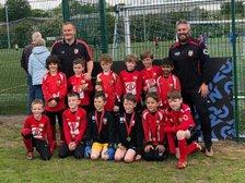 Betley FC Saxons at the Sandbach Festival of Football