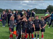 Betley FC Tigers win Hartford Tournament