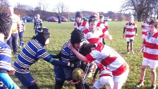 U11s V Dinnington Yorkshire Cup 27/11/11