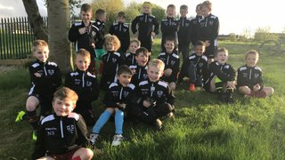 New Training Tops for the Under 8's