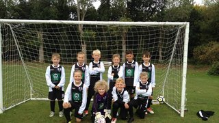 First Away Game for the Under 9's Whites