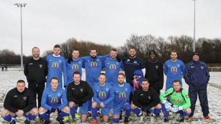 21st Jan 2018 Clifton fc v Eastwood fc in aid of Weston Park Cancer