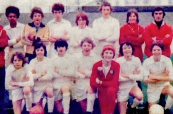 Back Row (left to right) Pat Brodie (manager), T Beeby, A Bailey, D Heale, C Murphy, S Mills, L Morgan, K Cliff (Ass.Manager) Front Row (left to right) C Wyatt, D Cliff, J Brodie, S Wilson, D Elliott, P Spencer, R Smith
