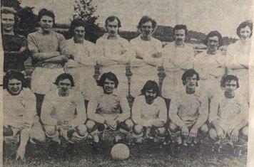 1975-76 Midland League Back Row (left to right) S Foster, M Hart, J McEvoy, D Shipley (capt.), T Cuthbert, K Sharpe, P Byrne, D Walker Front Row (left to right) S Vann, J Pass, D Claypole, G Deakin, P Liversey, J Carlin