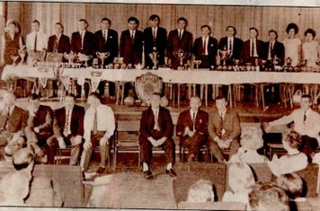 One of the first presentation nights at the Clifton YMCA