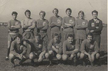 1970-71 Nottm Parks back row(l to r) John Turner, Dave Taylor, Dave Wilson, Eddie Simpson, Dennis McKenna, Paul Hills, Howard Kilbourne. Front Row(l to r), Leigh Kilbourne, Mick Lowe, Alan Newman, Errol Clarkeson, Iain Walsh