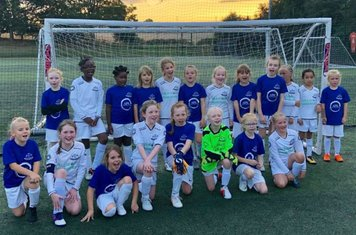 Under 9 and Under 10 Girls Aug 29th 2018